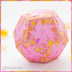 Modular Origami Dodecahedron Instructions