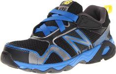 New Balance KV695 Youth Running Shoe (Little Kid/Big Kid),Black/Blue