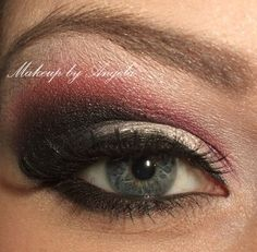Dramatic Red and Black