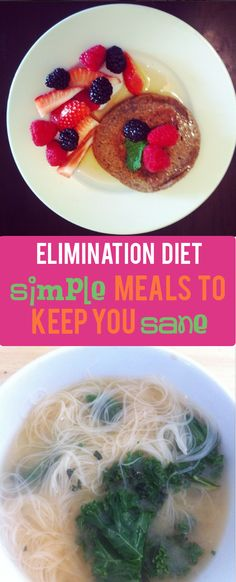 Elimination Diet Recipes: Simple Recipes to Keep You Sane If you're doing the you might be overwhelmed by what to eat. Here's our simple suggestions. If you're doing the you might be overwhelmed by what to eat. Here's our simple suggestions. Healthy Recipes, Simple Recipes, Healthy Food, Healthy Meals, Healthy Kids, Healthy Weight, Bean Recipes, Vegan Meals, Eating Healthy