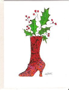 warhol's first job was designing womens shoes..limited to holiday use only