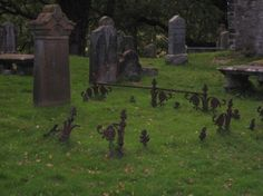 Lachlan Castle cemetery, Scotland