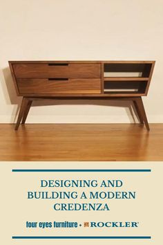 In this video, Chris Salomone builds his best piece to date, a Mid Century Modern-inspired Credenza. Watch the full build here! #CreateWithConfidence #FourEyesFurniture #MidCenturyModern #Credenza #Design