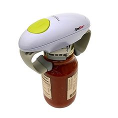 Robo Twist 1014 Electric Jar Opener, Small, White