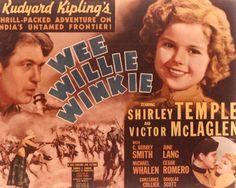 Wee Willie Winkie, 1936.
