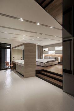 Modern, minimalist bedroom design Lo Residence by LGCA DESIGN (10) #luxurybedroom