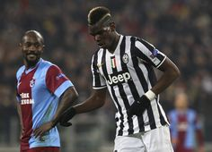 Paul Pogba of Juventus FC celebrates after scoring their second goal during the UEFA Europa League Round of 32 match between Juventus and AS...