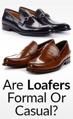 Are dress loafers formal or casual? There are four types of dress loafers, each with a different level of formality. Today I'll explain exactly when to wear each type, and what to wear with it. Gucci Loafers, Dress Loafers, Casual Loafers, Suede Loafers, Penny Loafers, Loafers Men, Casual Shoes, Dress Shoes, Suit Shoes