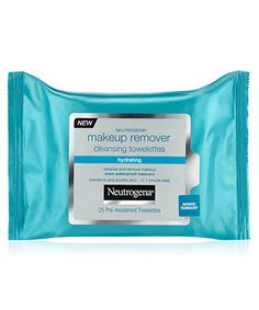 Neutrogena Makeup Remover Cleansing Towelettes. Love how it removes my eye makeup gently and moisturizes after washing my face with the Visibly Bright daily facial cleanser! $6.99