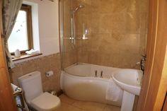Bathroom In The Granary Luxury Holidays, Corner Bathtub, Bathroom, Home, Washroom, Full Bath, Ad Home, Homes, Bath