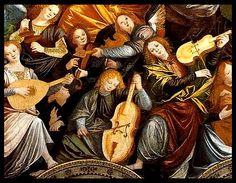 Gaudenzio Ferrari - the violin famila (ca. 1535) Music in Paintings