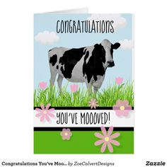 Shop Congratulations You've Moooved! Moving House Card created by ZoeCalvertDesigns. House Of Cards, Moving House, Congratulations, Bubbles, Creative, Projects, Log Projects, Blue Prints