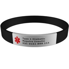 Medical Bracelet With Engraveable Tag