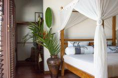 One of the bedrooms at Villa Bambolina