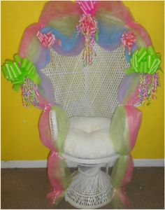 Great Photo Galleries, Chairs. Baby Shower Chair Decor
