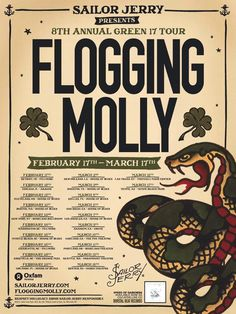 Sailor Jerry & Flogging Molly