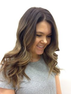 Beautiful balayage by our hair team!