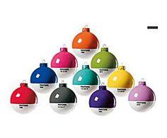 Set de 10 bolas decorativas PANTONE® - Ø8