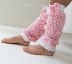 Crotchet leg warmers