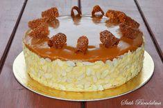 SÜTIK BIRODALMA: Karamelltorta Gourmet Recipes, Sweet Recipes, Cookie Recipes, German Cake, Hungarian Recipes, Tea Cakes, Sweet And Salty, Cakes And More, Food To Make