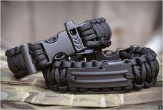 These military style bracelets, would work for some men. But not for the types that like to suit up.