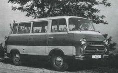 Skoda 1203 Prototype, 1957