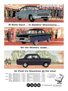 1958 Ford ad | Flickr - Photo Sharing!