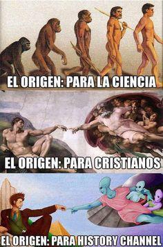Los tres orígenes.