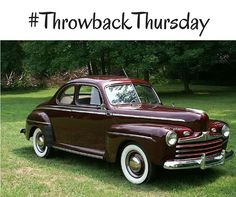 Wed love to have this 1946 #Ford Super Deluxe Business Coupe today! #TBT