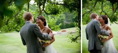 A Blue Ridge Mountain wedding---I love there aren't any funky vintage tones added to the great photography.