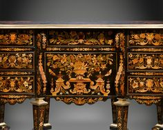 Antique Furniture, French Desks and Writing Tables, Pierre Golle ~ M.S. Rau Antiques