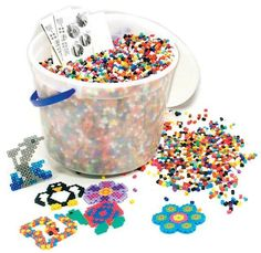 Iron beads...made these alll the time!