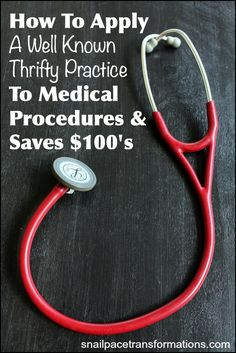 Save money on medical bills: Looking for a way to save a significant amount of money on your out of pocket medical expenses? The answer is to use this classic thrifty practice.
