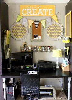 Craft Room Organization Ideas { lilluna.com }