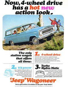 1965 Jeep Wagoneer Ad