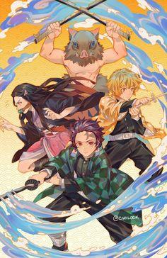 Read Demon Slayer / KimetsuNoYaiba-Online Best Manga Online in High Quality Otaku Anime, Manga Anime, Anime Demon, Anime Art, Manga Girl, Anime Girls, Demon Slayer, Slayer Anime, Dark Fantasy