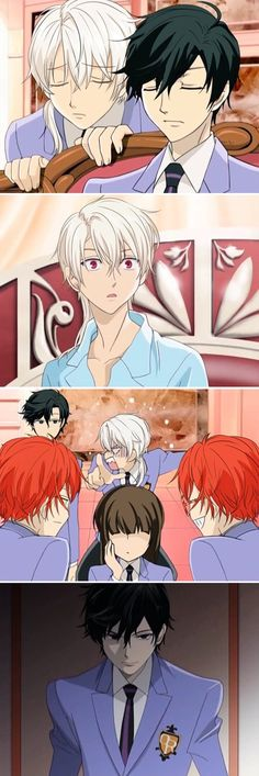 Y E S 100X Y E S HOST CLUB CROSSOVER Y E S omg is that a mm Ouran Host club crossover??