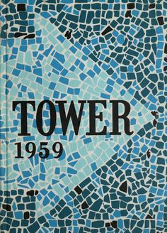 University of Detroit 1959 Tower Yearbook