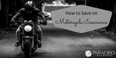 Don't miss out on ways you can save on Motorcycle Insurance! #ParadisoInsurance #Connecticut #Insurance @paradisoins