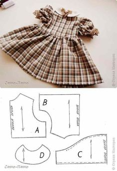 Sewing toys free pattern doll clothes 54 ideas for 2019 Sewing Doll Clothes, Baby Doll Clothes, Sewing Dolls, Barbie Clothes, Doll Patterns Free, Doll Dress Patterns, Baby Patterns, Clothing Patterns, Doll Sewing Patterns