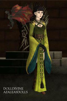Mulan and mushu  Doll Divine - Dress Up Games