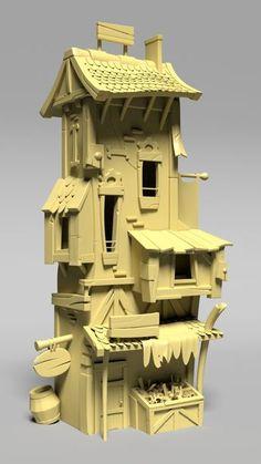 ArtStation - Hearstone House, Alexandre Dupont
