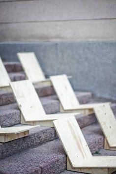 Simple step seats