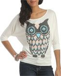 Stitch Owl Top | Shop Tops at Wet Seal