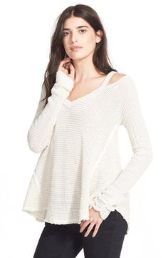 Free People 'Moonshine V' Cold Shoulder Sweater | Nordstrom Just ordered! Can't wait to wear it!