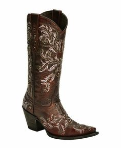 Boots! Boots! Boots! These ones are super cute! Lucchese Handcrafted 1883 Angelina Cowgirl Boots