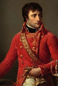 ╰⊰✿Portrait of Bonaparte wearing his Consular sword made by Nitot, by Antoine Gros, 1802.✿⊱╮