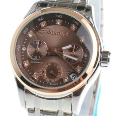 Latest Discount $28.05, Buy 2017 NEWEST BIAOKA rose gold mechanical watch Top Brand Luxury automatic watch women stainless steel skeleton Clock Female