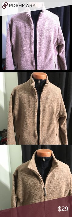 Chaps by Ralph Lauren fleece jacket warm stylish This cold is a very very nice it's warm much warmer than you might think an extremely stylish it looks good it looks special you've just got to own it I have so enjoyed this and it's uniqueness Chaps Jackets & Coats Lightweight & Shirt Jackets