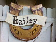 Horseshoe Cowboy Western Wooden Door Hanger by Earthlizard on Etsy https://www.etsy.com/listing/190915483/horseshoe-cowboy-western-wooden-door